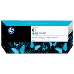 Hewlett-Packard HP Tintentank cyan hell Nr.81 C4934A