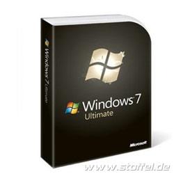 Microsoft Windows 7 Ultimate 32 bit OEM dt. DVD GLC-01813
